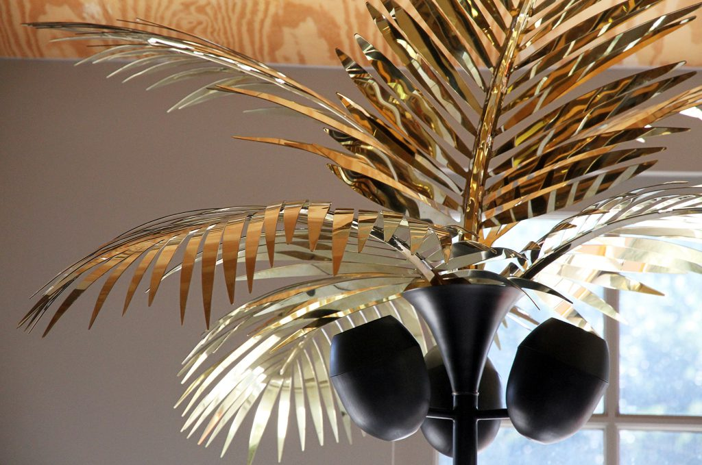California king palm tree floor lamp christopher kreiling studio the california king palm tree floor lamp is a celebration of living and creating in los angeles for almost two decades the palm tree is as much a sculpture aloadofball