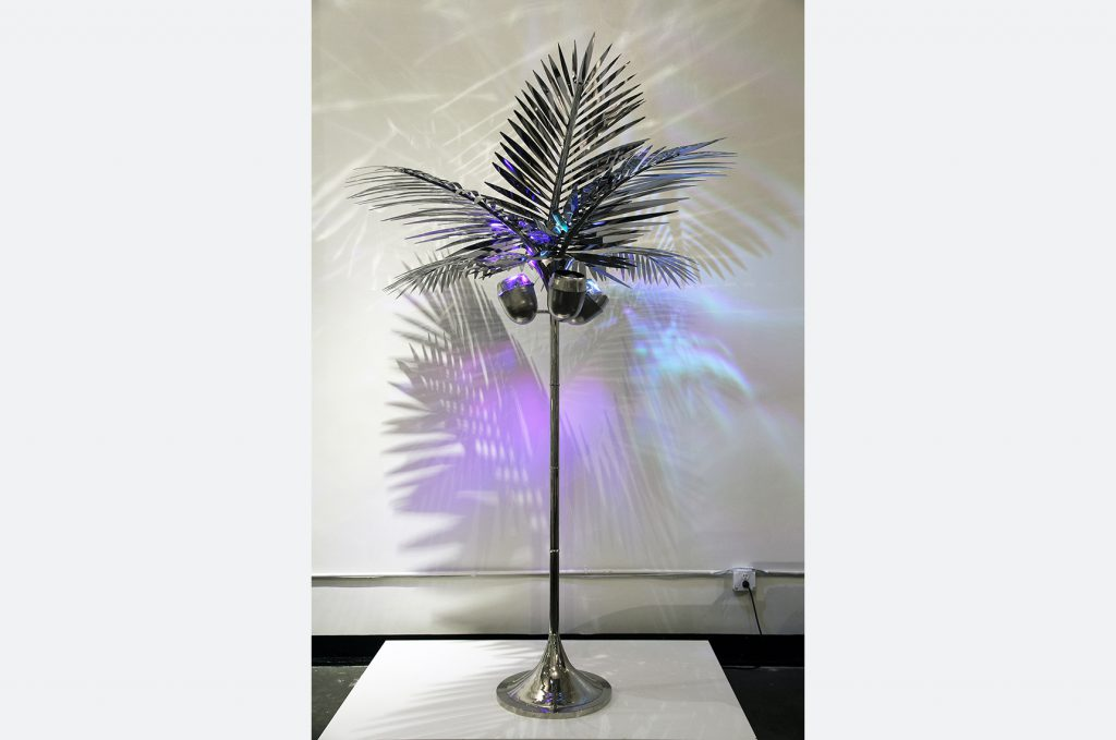 California king palm tree floor lamp christopher kreiling studio the california king palm tree floor lamp is a celebration of living and creating in los angeles for almost two decades the palm tree is as much a sculpture aloadofball Choice Image