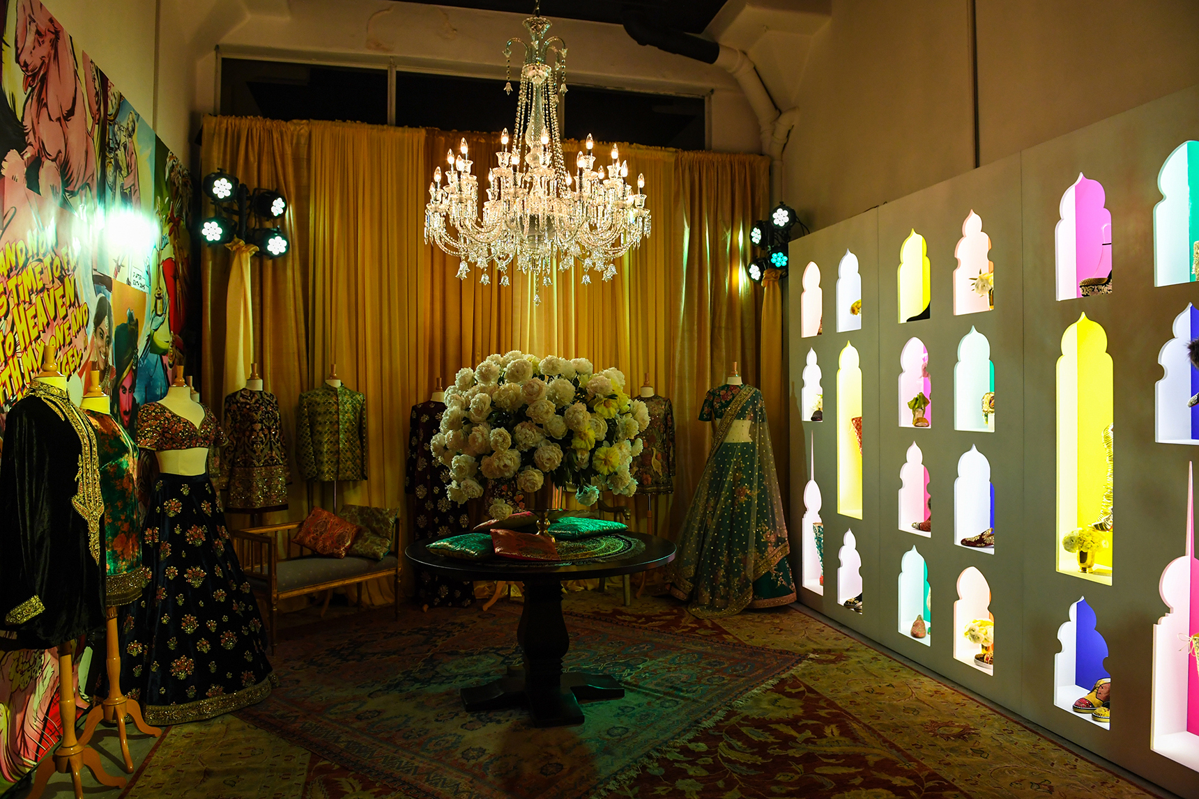 Just One Eye Presents : Christian Louboutin x Sabyasachi Capsule Collection